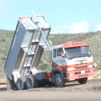 VIDEO Spreading aggregate