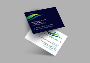 Amuri Irrigation Co Business Card