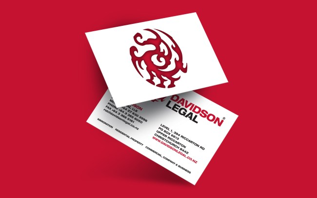 Davidson Legal Business Card