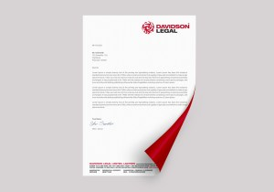 Davidson Legal Letterhead