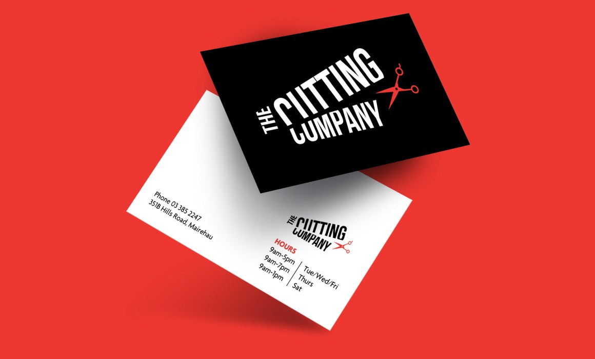 The Cutting Company Business Card