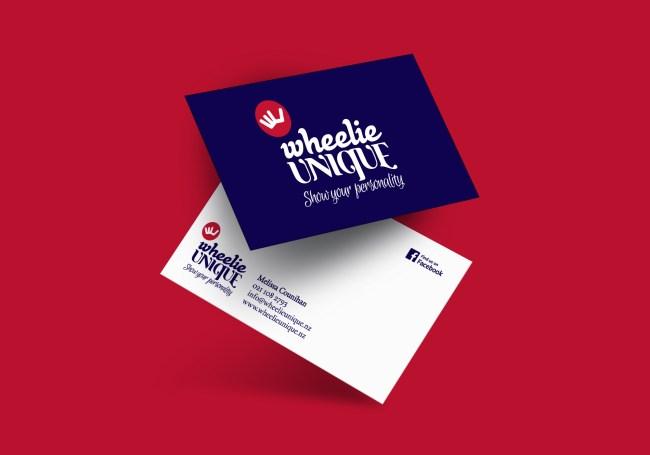 Wheelie Unique Business Card