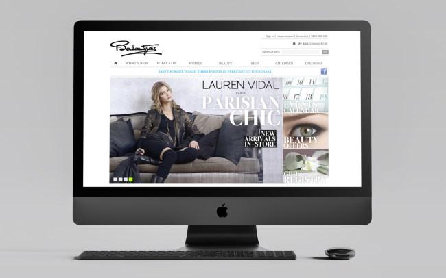Ballantynes Website