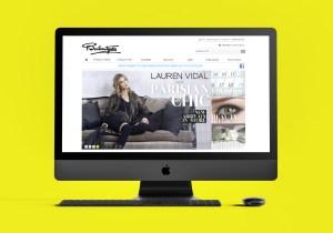 Ballantynes Website Design iMac2