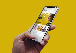 Ballantynes Website Design iPhoneX