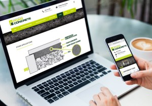 Canterbury Foam Concrete Website Design