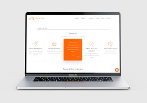 Brighter Days Website - Services