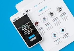 Toltec Scale Website iPad