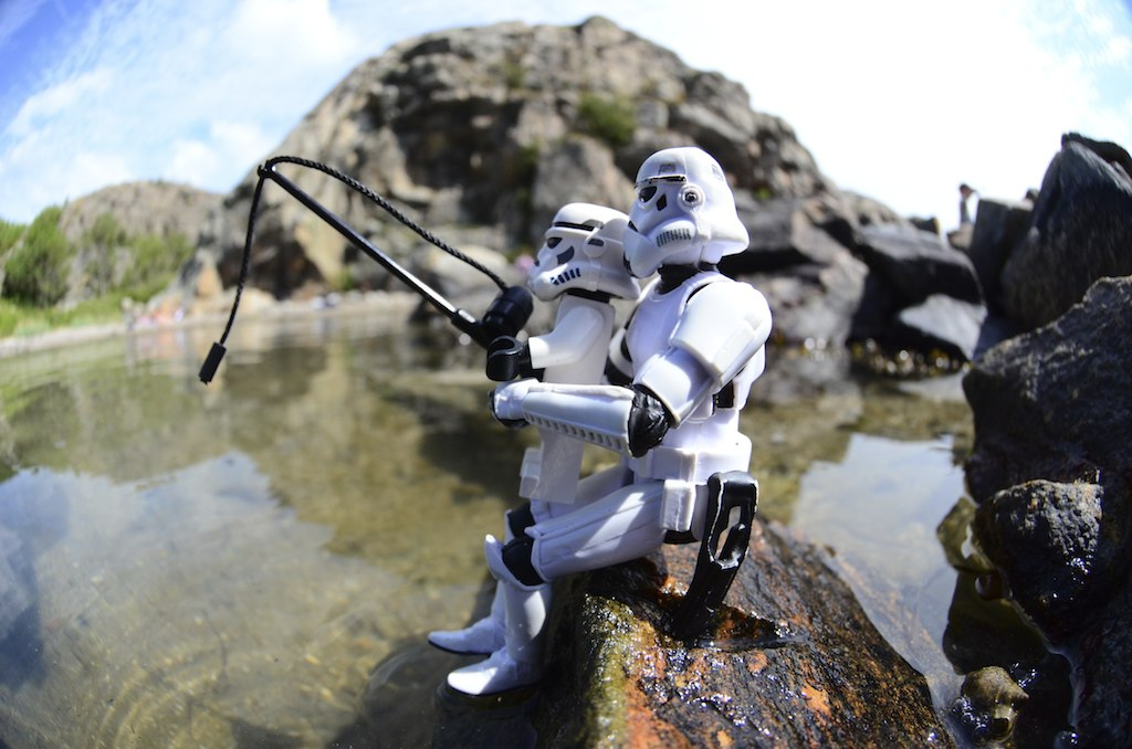 Stormtroopers fishing