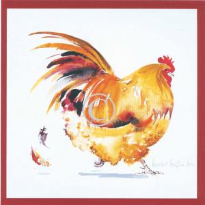 Chicken Print - Strutting Chicken