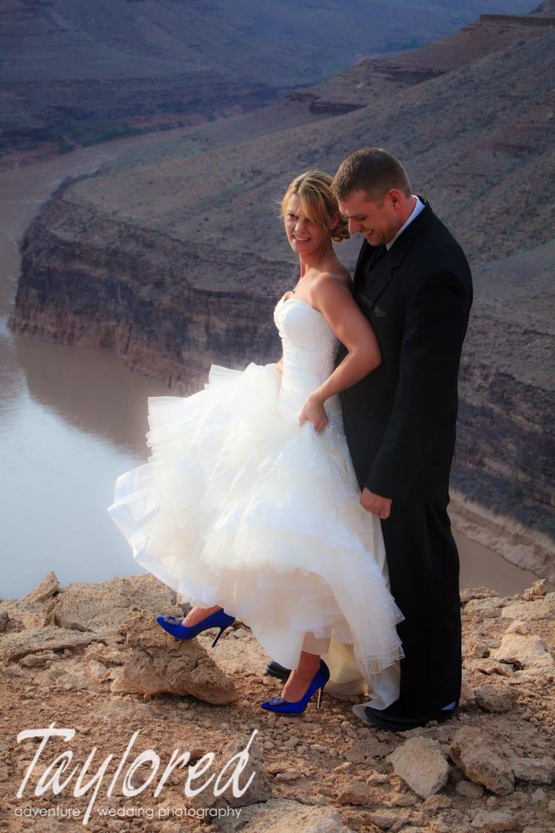 Grand Canyon Wedding Adventure Wedding Photographer