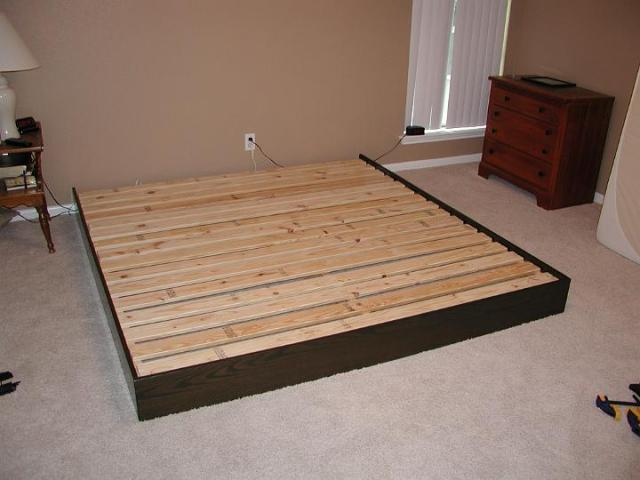 Projects: Need a nap? Make a bed.