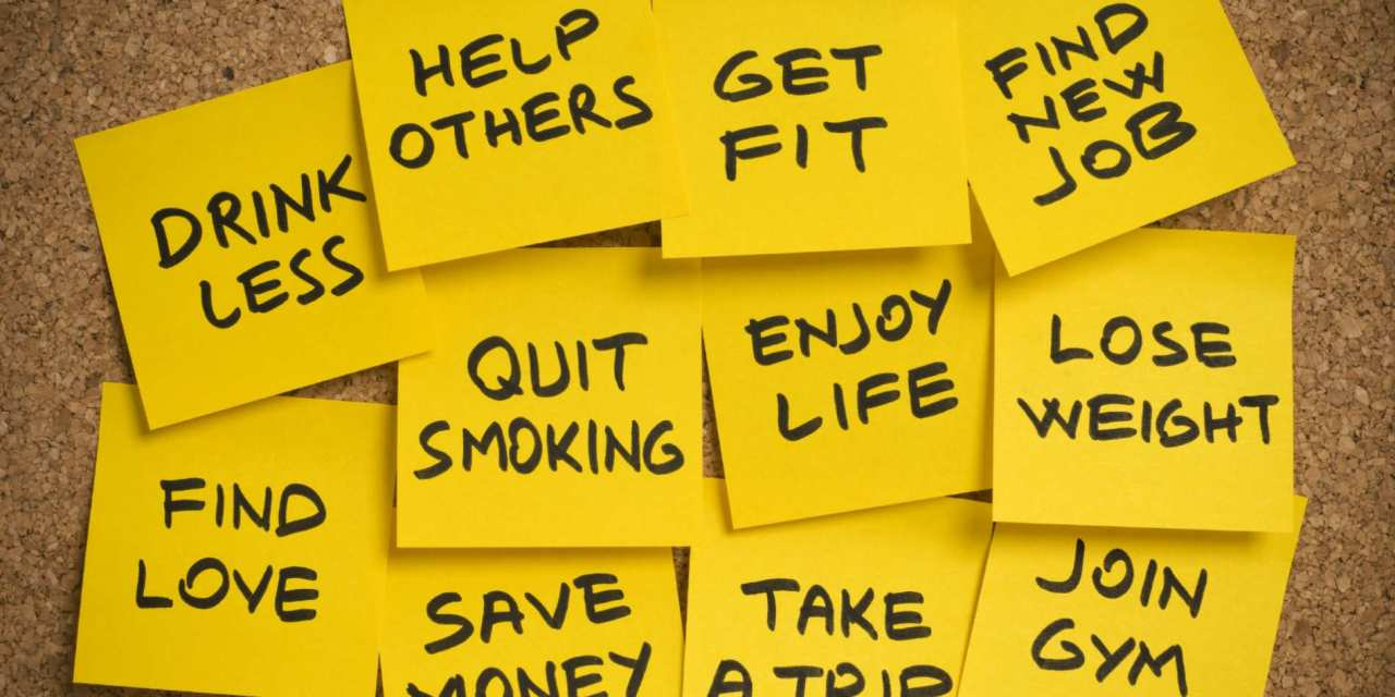 Why 70% of New Year's resolutions are abandoned within one month.