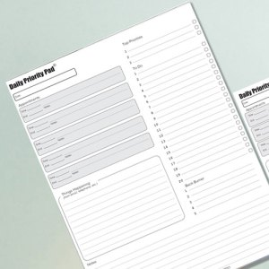 Priority Pad Planners