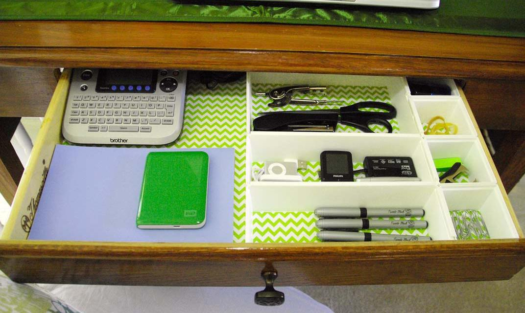 Organize your office for maximum productivity.