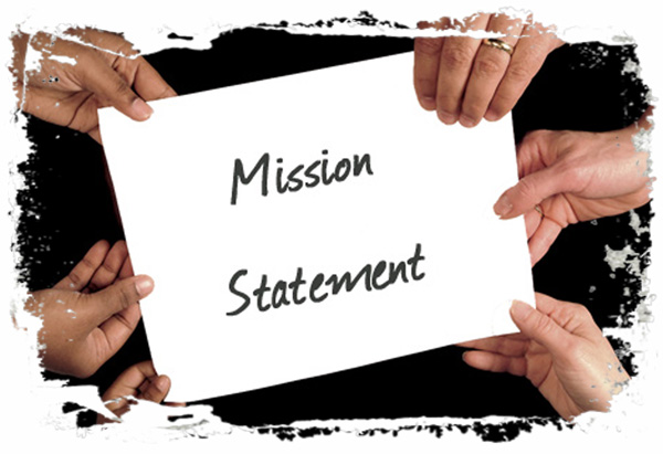 Develop a mission statement – for your company and yourself.