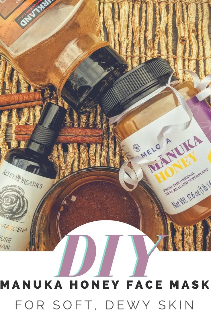 DIY Manuka Face Mask Recipe - Gentle face mask recipe leaves your skin soft and dewy. #DIY #Beauty #SkinCare
