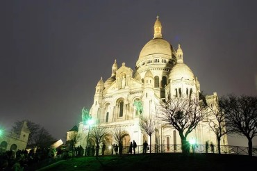 Sacre Coeur in Paris France