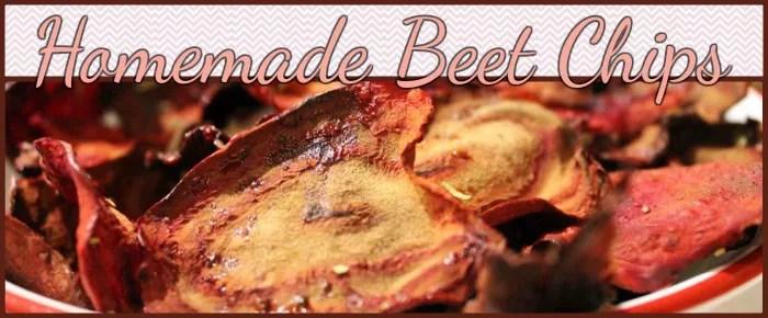 Homemade Beet Chips recipe