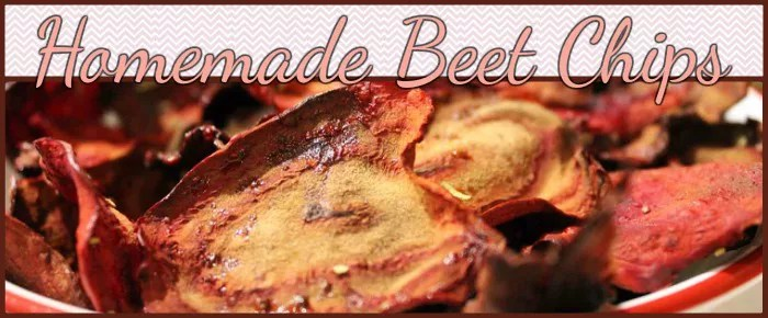 how to make beet chips fried