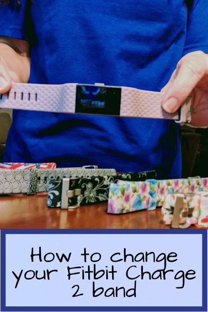 How to change your Fitbit Charge 2 band with a fun, patterned band, leather Fitbit accessory band, or even a dressy gold fitbit band.