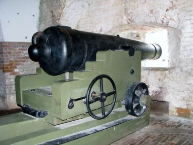 Canon at Ft. Pickens