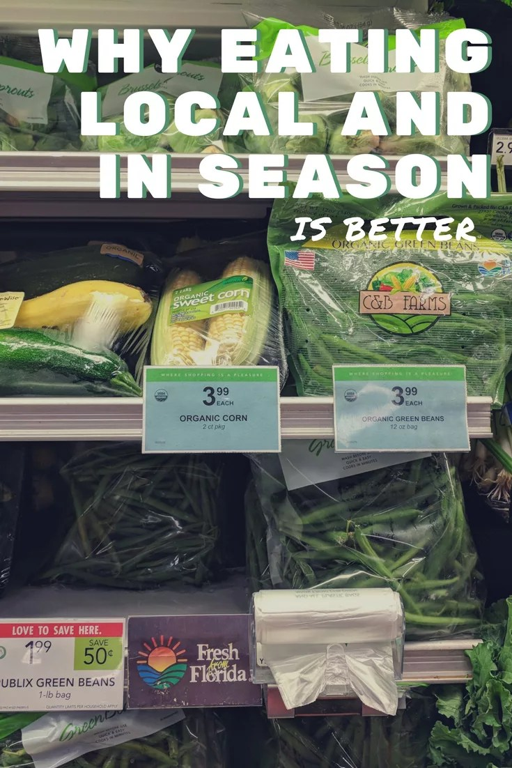 Eating local and seasonally fresh produce is better for you, the environment, and your community! #FollowTheFresh @freshfromfl #ad