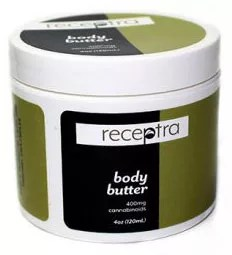 Receptra Body Butter with CBD