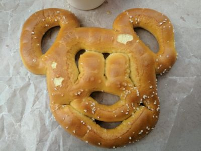 I wish it had tasted better. At least the Mickey Mouse Pretzel was photo worthy