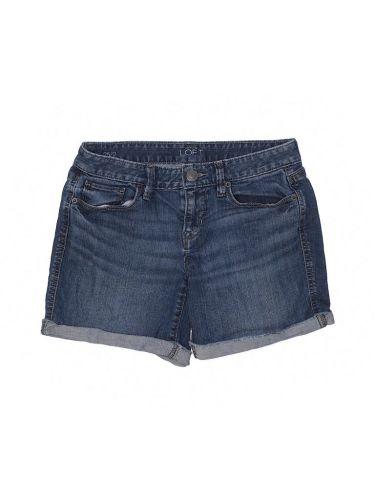 Ann Taylor Loft low rise denim shorts