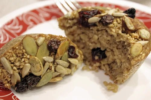 Nature muffin (steel cut oatmeal muffin)