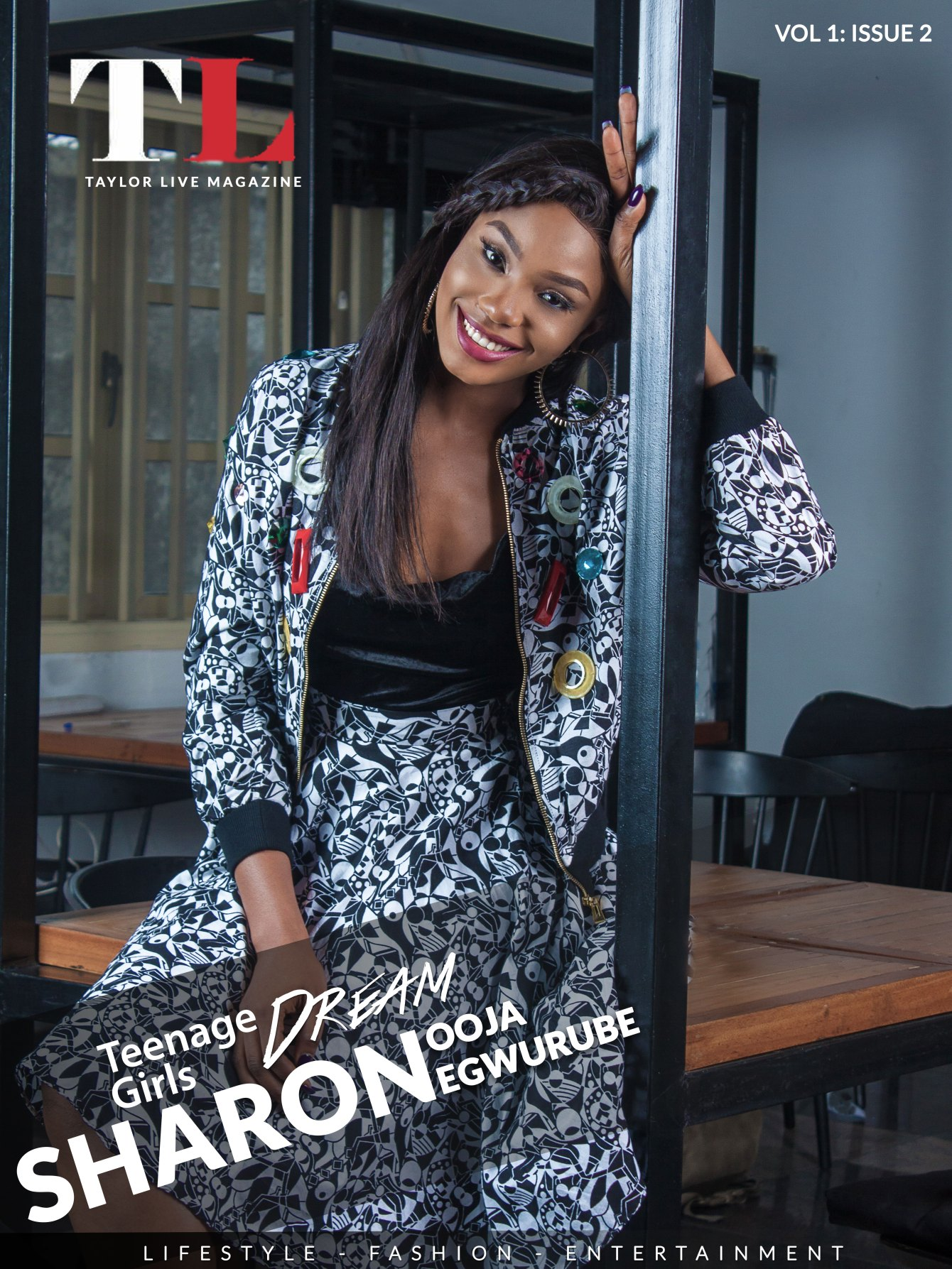 TL Magazine Cover Star Sharon Ooja Egwurube Teenage Girls Dream