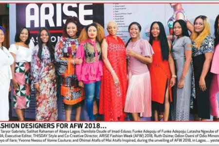Meet the Designers! ARISE Fashion Week (AFW) 2018 Unveils Line-Up