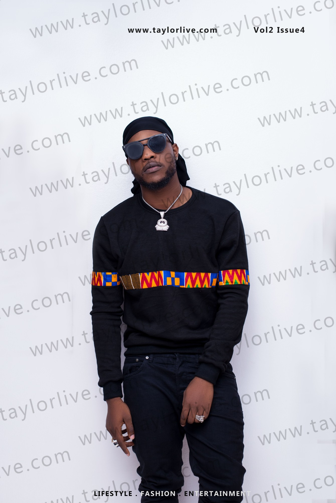 """""""RAZAKING = ROYALTY"""" Damilola Afolabi popularly known as L.A.X Covers Taylor Live Magazine's Latest Issue ( TL Magazine)"""