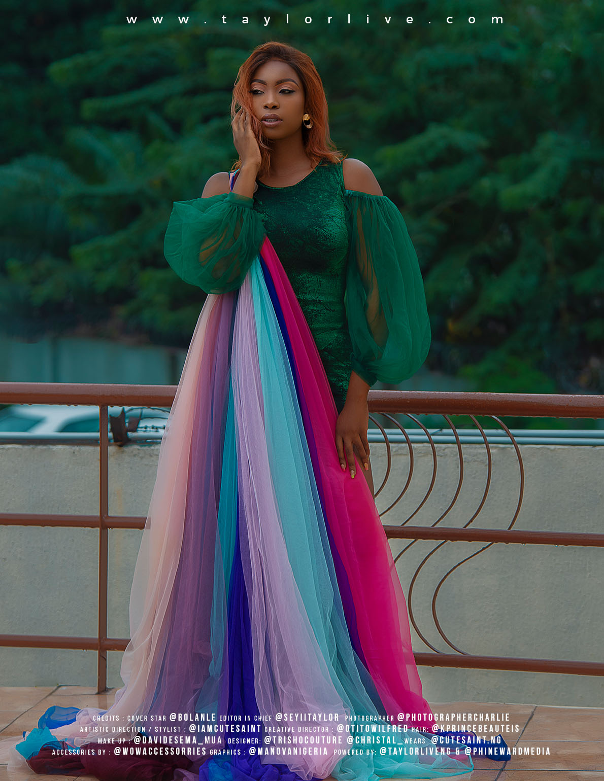 The Unstoppable – Bolanle Olukanni Covers Taylor Live Magazine's Latest Issue