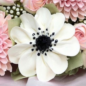 buttercream frosting Anemone, how to make buttercream frosting flowers