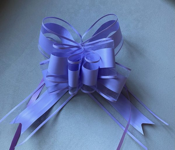 Purple Organza Bow - 10 packTaylor Made Cake Courses, online piping tutorials, online buttercream frosting videos, piping tips, piping accessories, flower piping, flower piping tips, cupcake bouquets, learn to pipe cupcake bouquets, buttercream flowers, buttercream frosting tutorials,