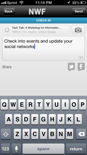 In App Social Updates!