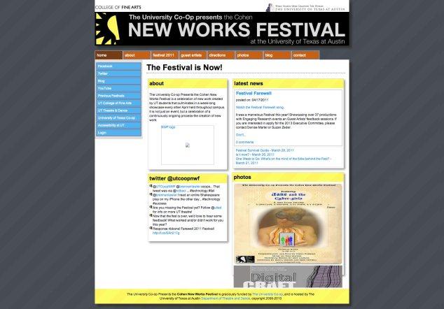 2011 NWF Website