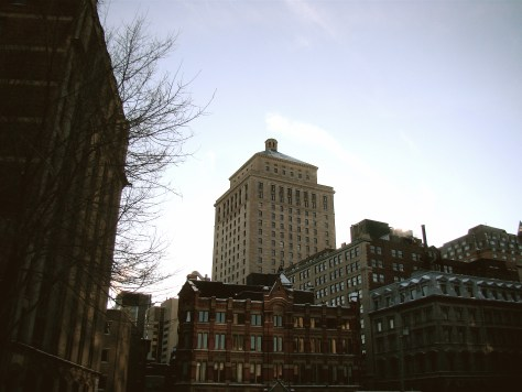 Old Royal Bank Building from an Empty Lot - Taylor C. Noakes, 2009
