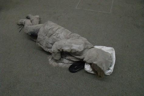 Frozen in Ash - Pompeii Mummy Moderne