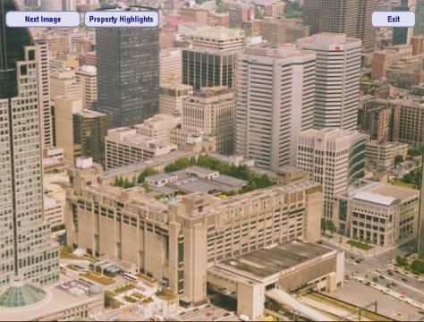 Hilton hotel atop Place Bonaventure, Montreal