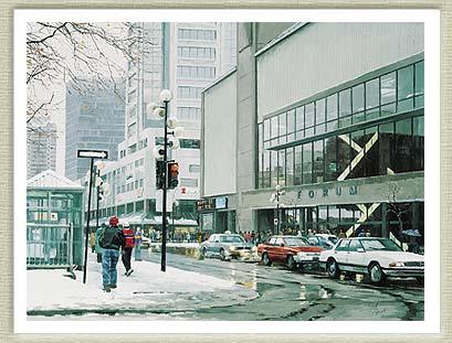 Montreal Forum, circa 1996.
