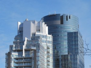 Come to think of it, I don't care for either of these buildings. I find them uninspired.