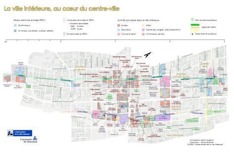 Credit to Michel Boisvert and Martin Gagnon from UdeM's Observatoire de la ville intérieur