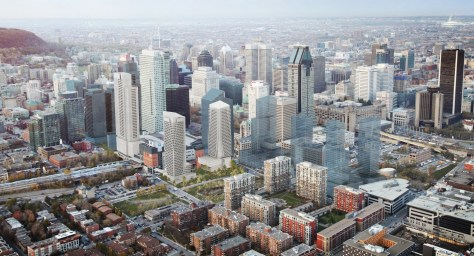 Cadillac-Fairview development proposal rendering