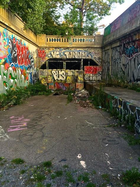 Abandoned Wellington Street Tunnel