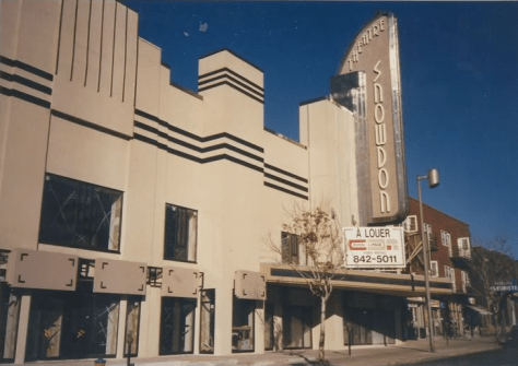 The Snowdon Theatre, post-1988 renovation, circa mid-late 1990s