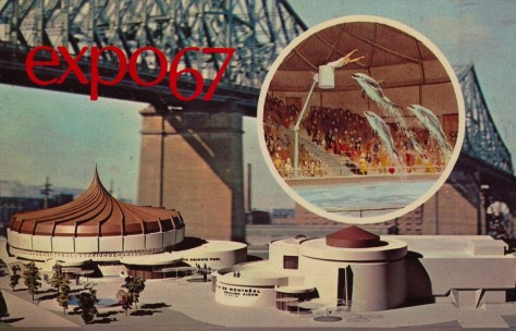 Alcan Aquarium promotional photo-montage, ca. 1966