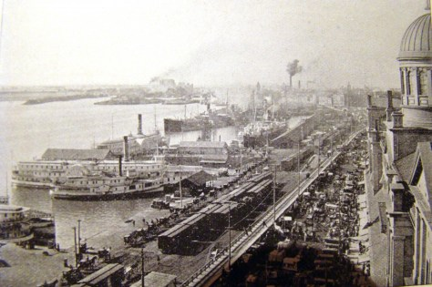 Harbourfront, Montréal ca. 1900